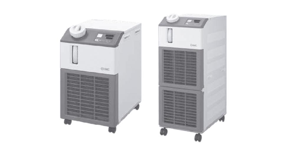 Equipamentos para controle de temperatura (Chillers)